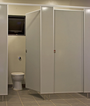 Vitrex S Vitraflex Modular Cloakroom Cubicle System And